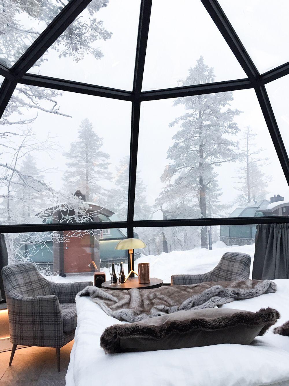 Seeking Northern Lights in Lapland at Levin Iglut resort   My ...