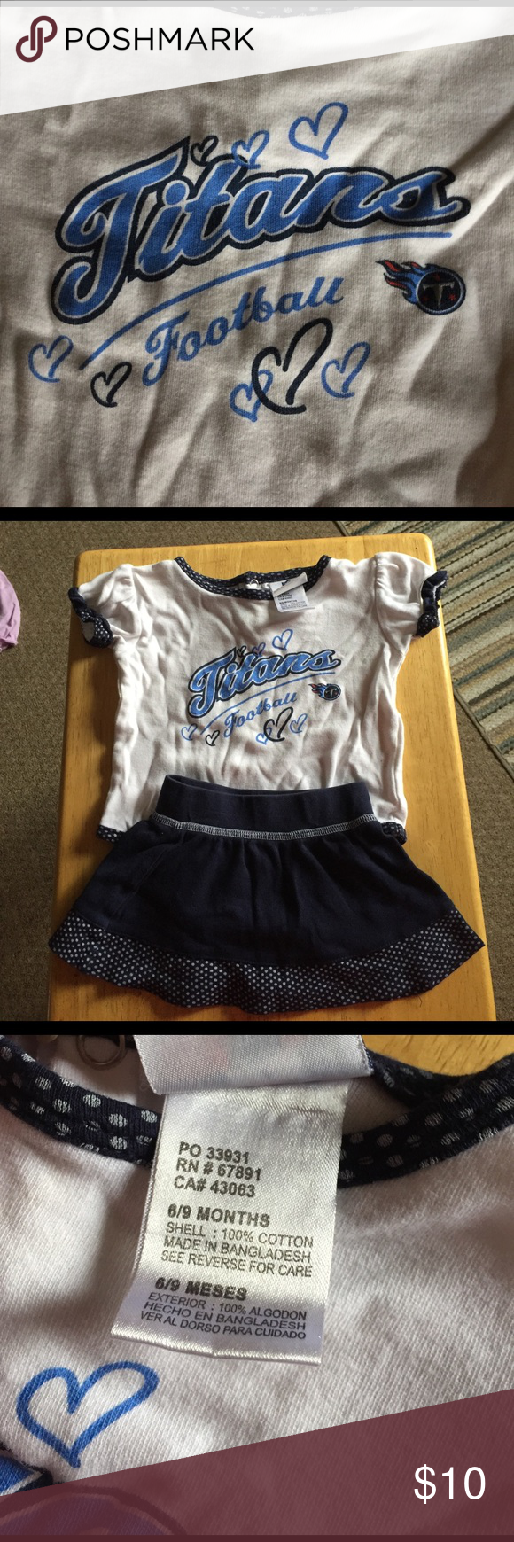 0fdc6c30 Tennessee Titans Cheerleader! EUC. No rips or stains. NFL Team ...