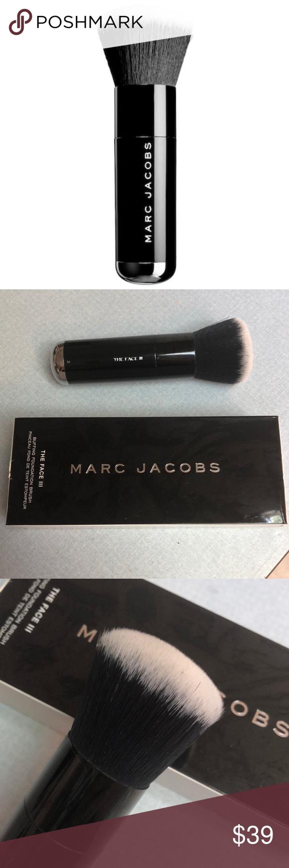 Marc Jacobs The Face III Brush Makeup gift, Makeup tools