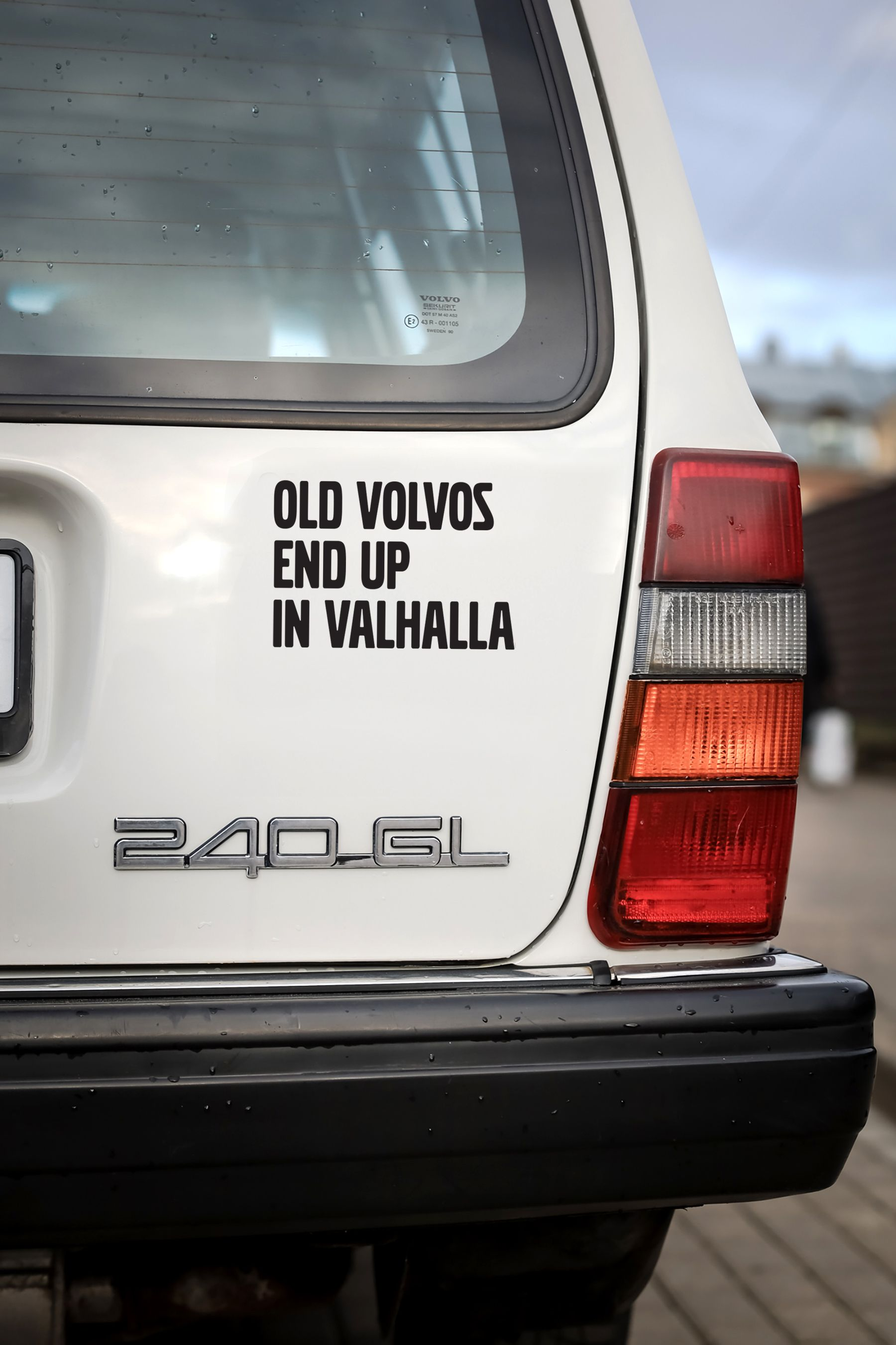 Stickers For Volvo Vikings Sticker Old Volvos End Up In Etsy Volvo Car Stickers Vinyl Car Stickers [ 2701 x 1800 Pixel ]