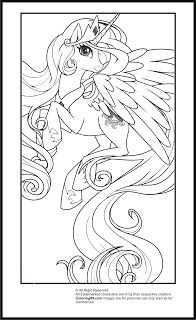 my little pony princess celestia coloring pages - Princess Celestia Coloring Page