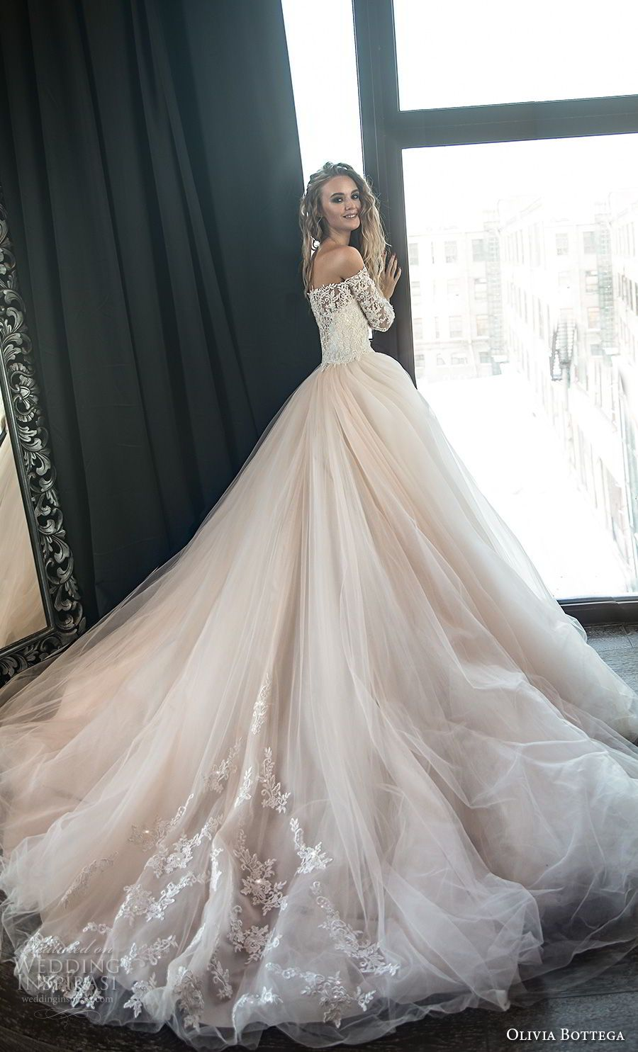 Ball gowns wedding dresses  Olivia Bottega  Wedding Dresses  Wedding gown  Pinterest