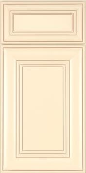 Kitchen Cabinets Marsh Furniture Co. Wentworth 1 Maple Ivory With Caramel  Glaze