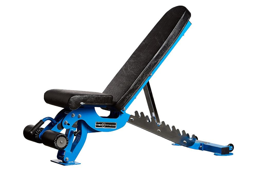 9 rep fitness adjustable bench in 2020