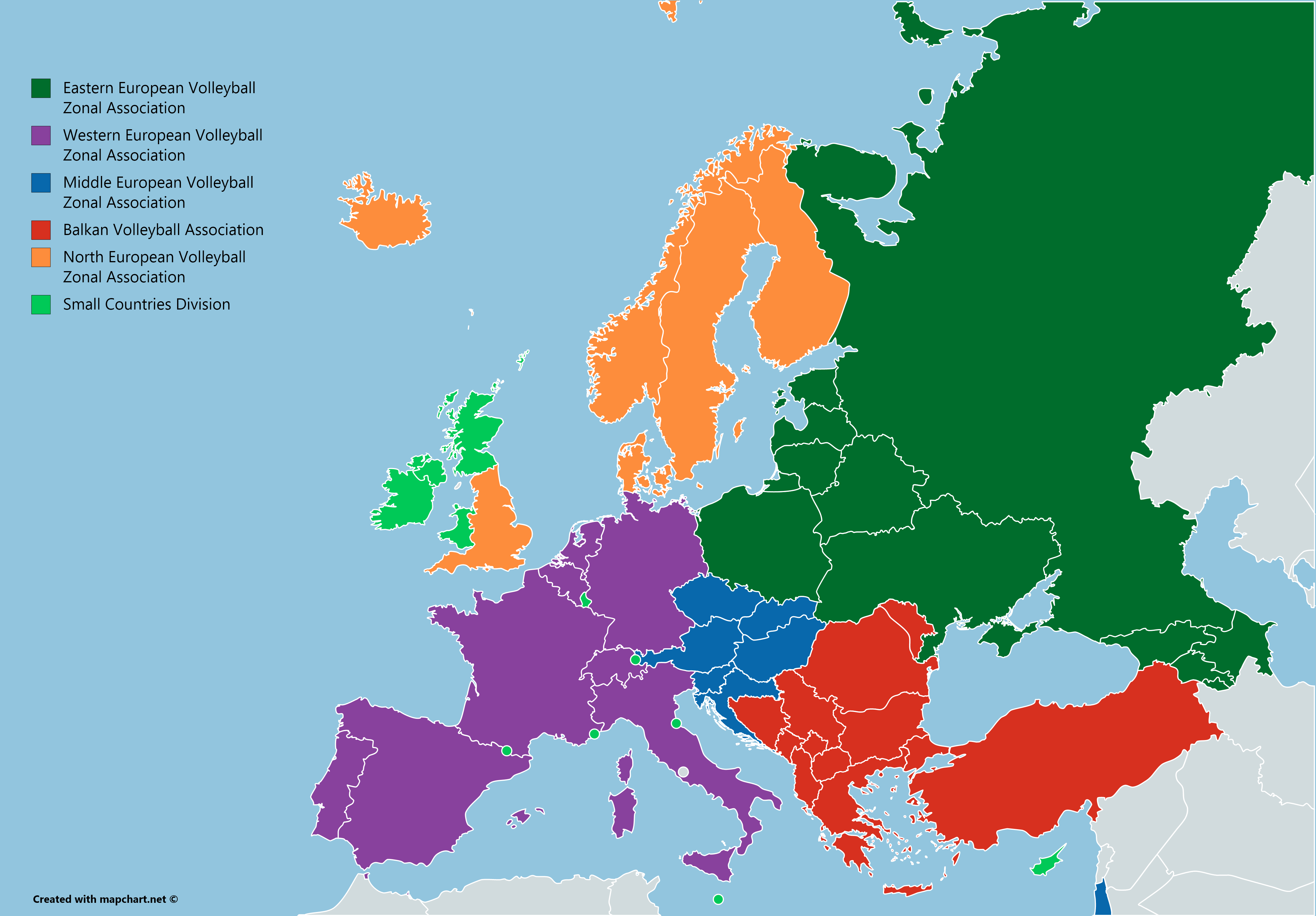 Zonal Associations of the European Volleyball Confederation [OC ...