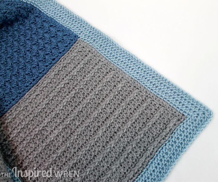 Border! Crochet Along Afghan Sampler | Crochet tunecino, Ganchillo y ...
