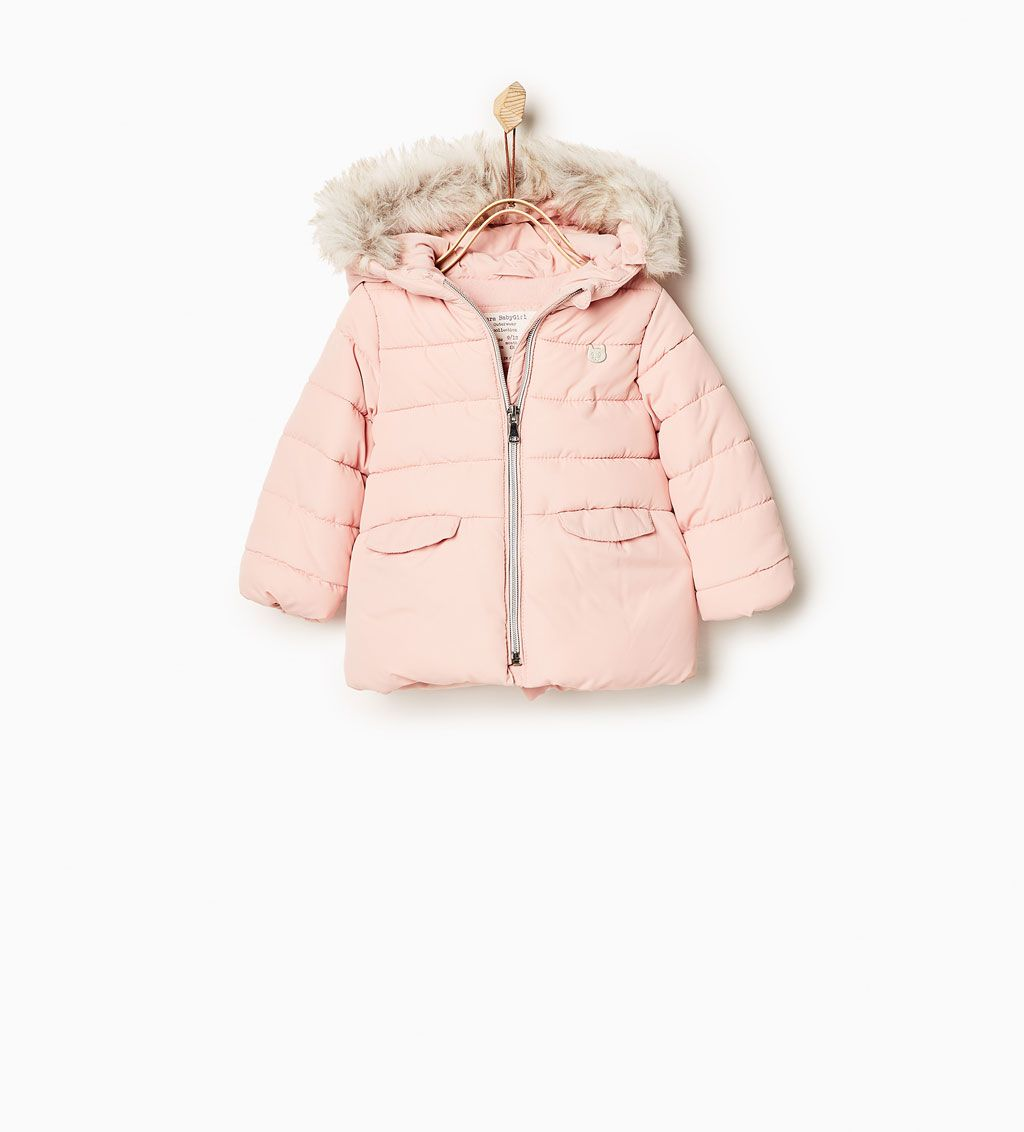 Basic quilted jacket-OUTERWEAR-Baby girl-Baby | 3 months - 3 years ... : baby quilted jacket - Adamdwight.com