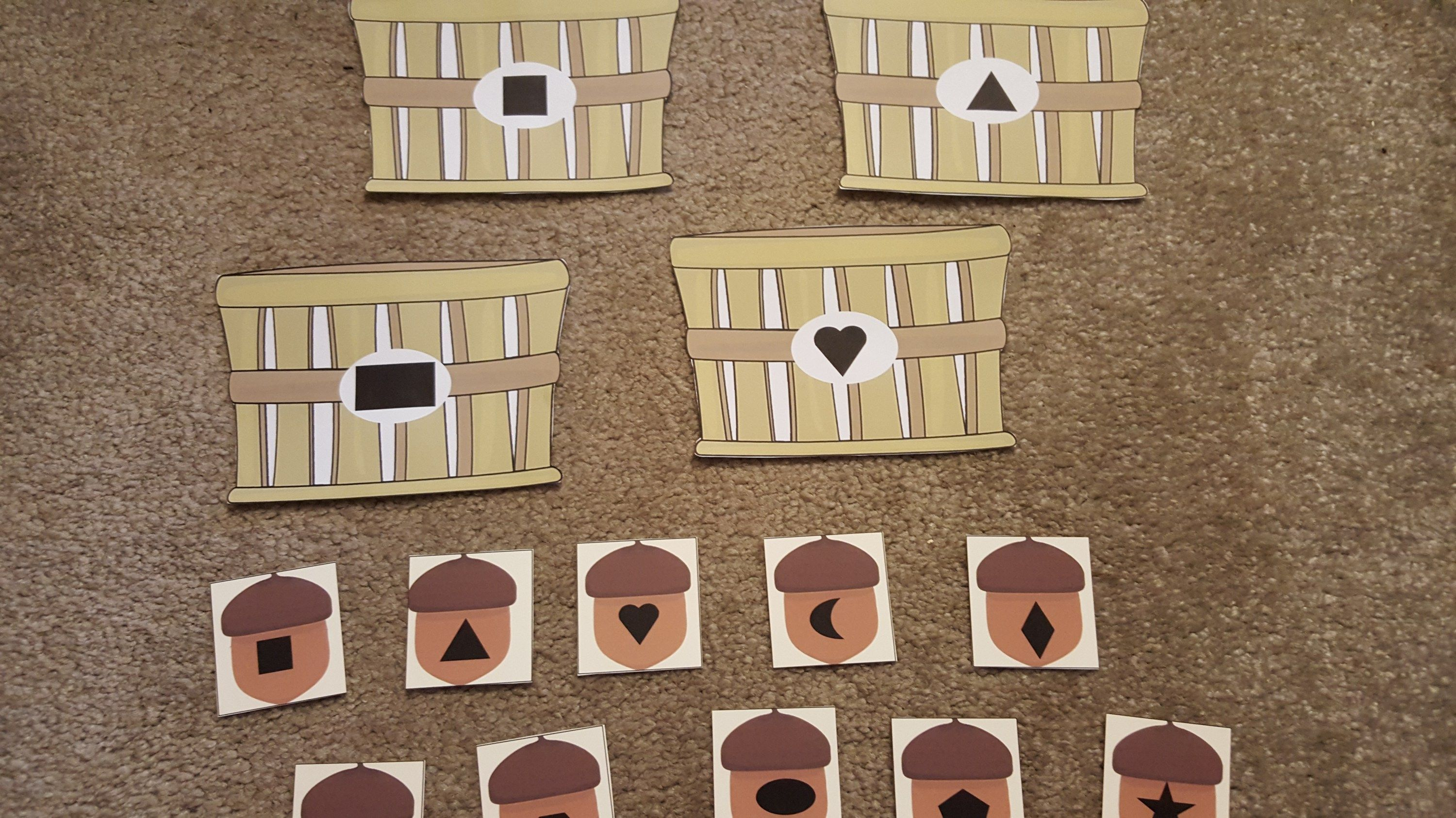 Use These Fun Fall Math Activities For Preschoolers To