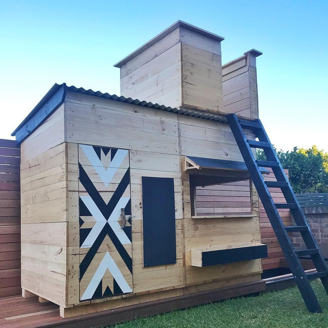 Building or buying  cubby house for your kids look no further here are four of the best ideas we  ve found on instagram including playhouses also trends and how to style them build playhouse rh in pinterest