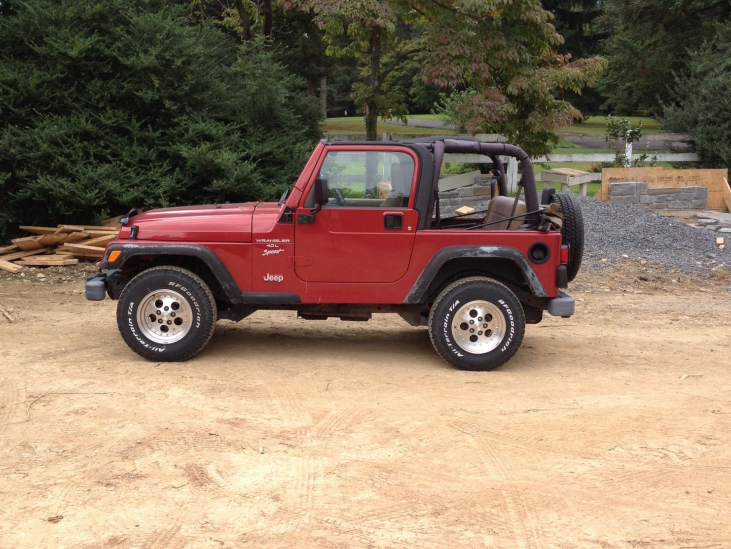 1999 chili pepper red jeep wrangler tj | jeep | pinterest | red