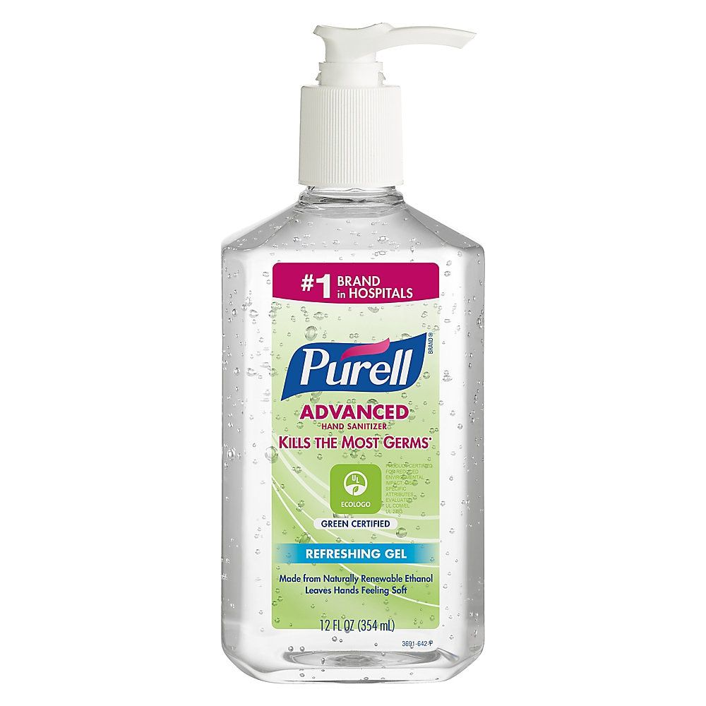 Purell Gel Instant Hand Sanitizer 12 Oz Case Of 12 Hand