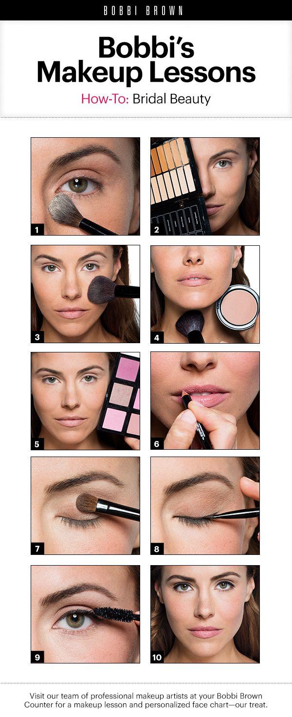 Bobbi Brown Makeup Lessons Bridal Beauty Makeup lessons