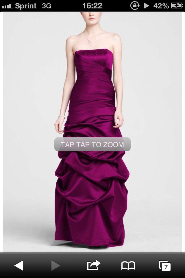 Sangria bridesmaid dress | Favorite Places & Spaces | Pinterest