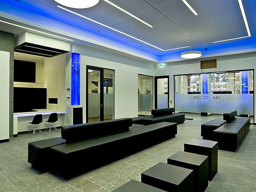wachtruimte Stadhuis Genk Balieplein Bouw & Interieur Gebr. Janssen ...