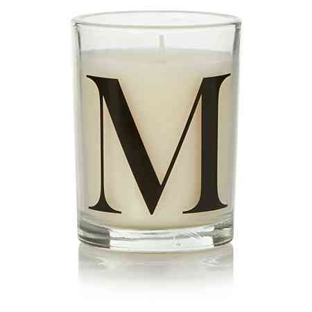 George Home Letter M Votive Candle | Christmas Candles | Pinterest