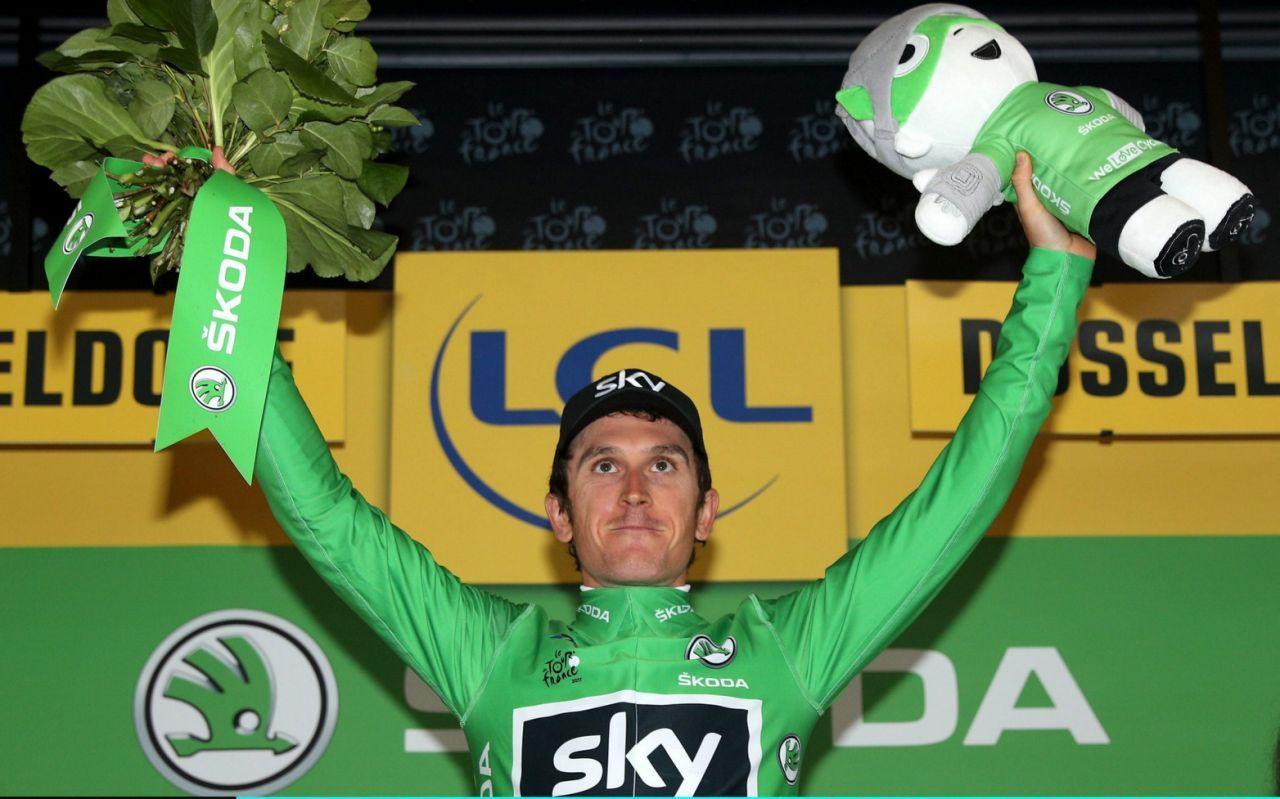Tour De France 2017 Geraint Thomas Wins Time Trial To Take Yellow Jersey As Team Sky Dominate Tour De France Geraint Thomas Tours France