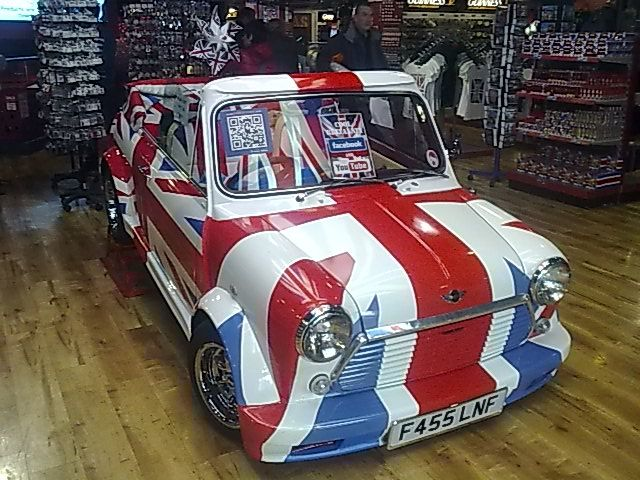 Union Jack Mini In Cool Britannia Uk I Want To Drive This As My