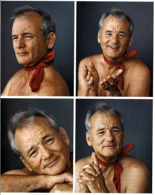 I want Bill Murray to crash my party.
