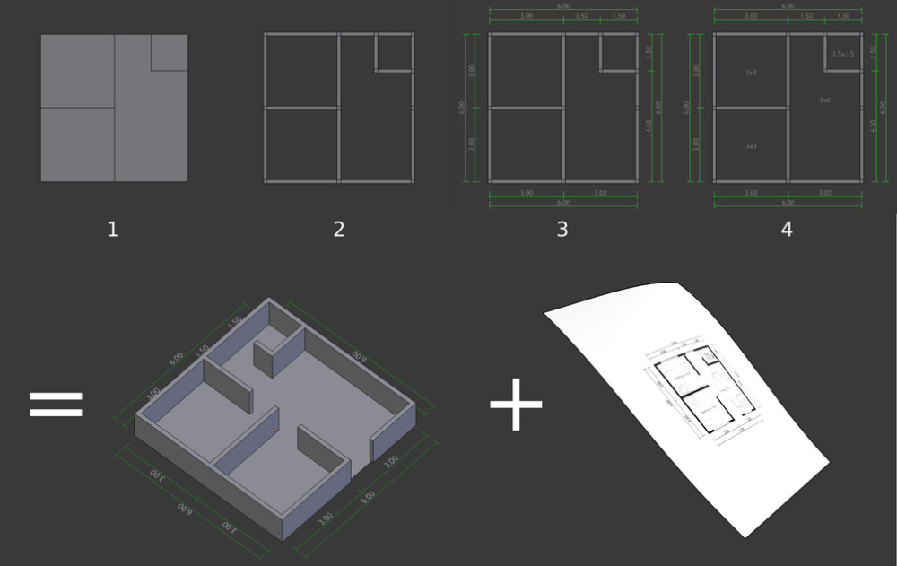 Quick Plan | Architectural floor plans, How to plan ...