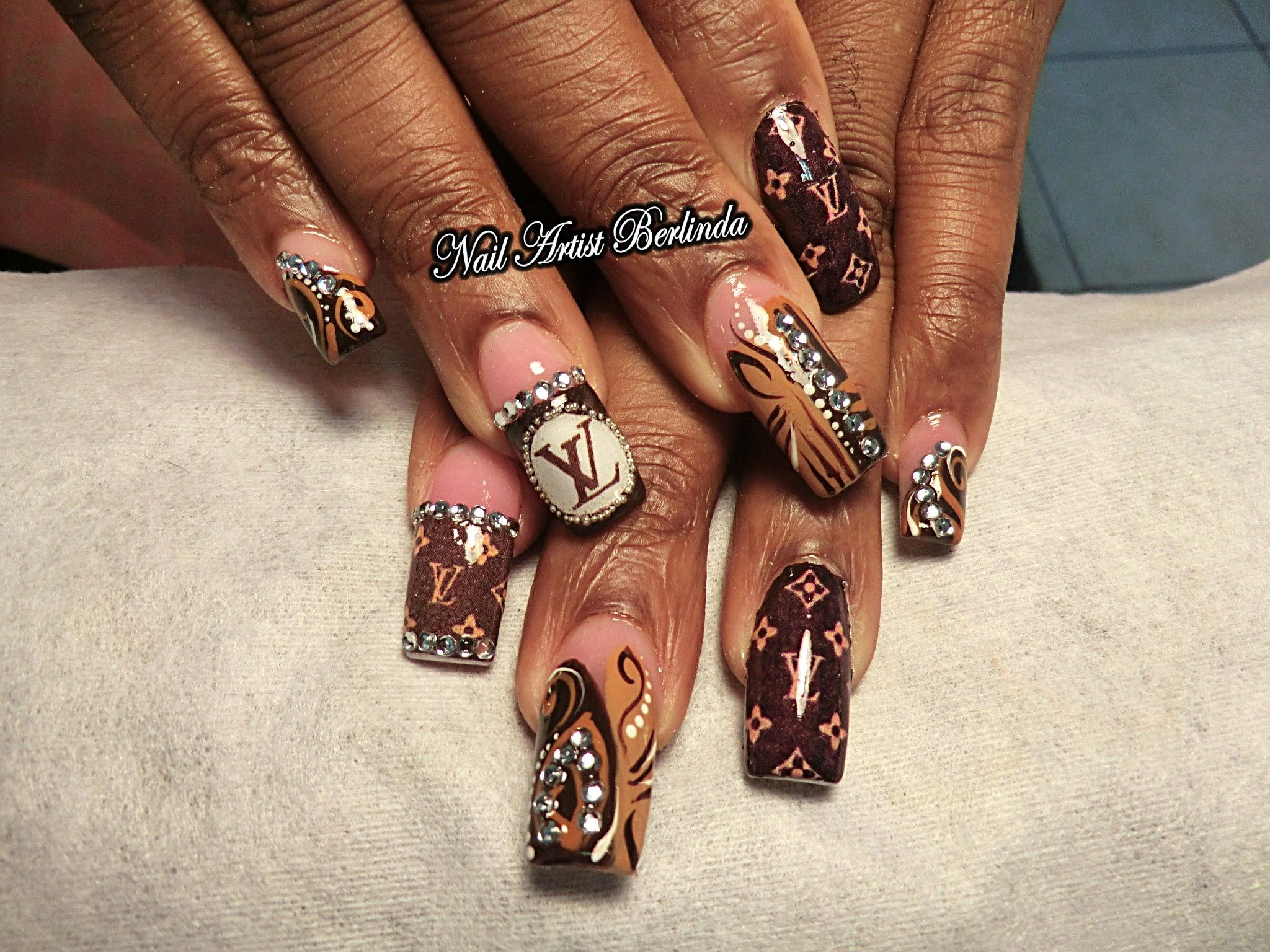 Louis Vuitton - www.nailartistberlinda.com for decals | Extravagant ...