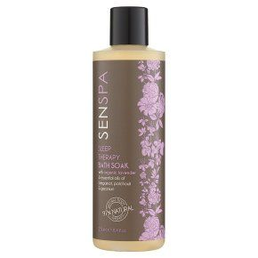 Senspa sleep therapy bath soak
