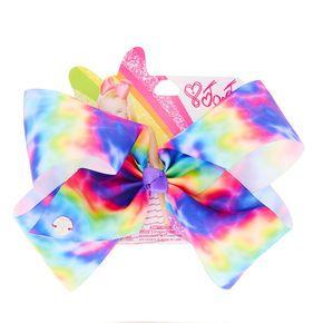 Jojo Siwa Large Rainbow Tie Dye Hair Bow