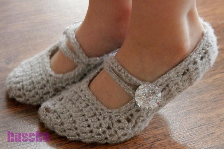 Häkeln Mary-Janes, Ballerinas - I want to make these! | Strick ...