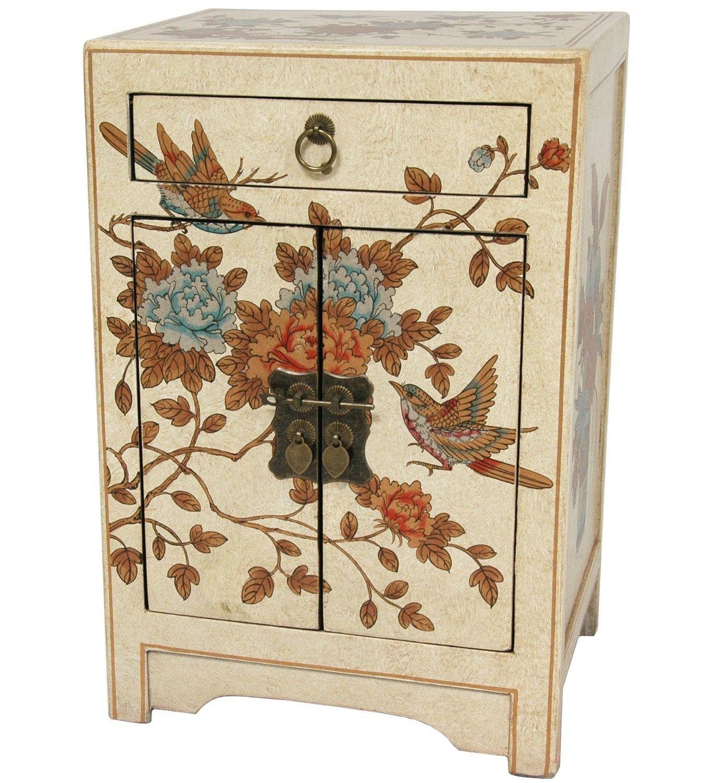Amazon Com Oriental Furniture Fine Oriental Design Nightstand 23