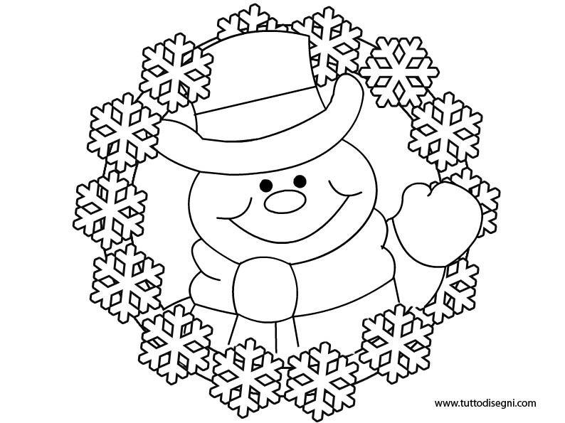 Photo of Inverno: colorazione del pupazzo di neve
