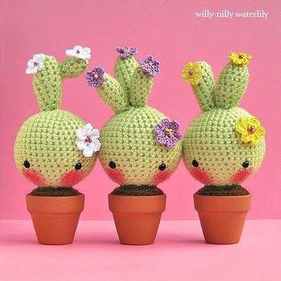 Hab ais visto unos cactus m s adorables que estos - Gama de verdes ...