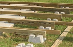Lovely LowDeckTT12 DIY Steps For Building A Deck Over A Patio Slab: The Low Down On