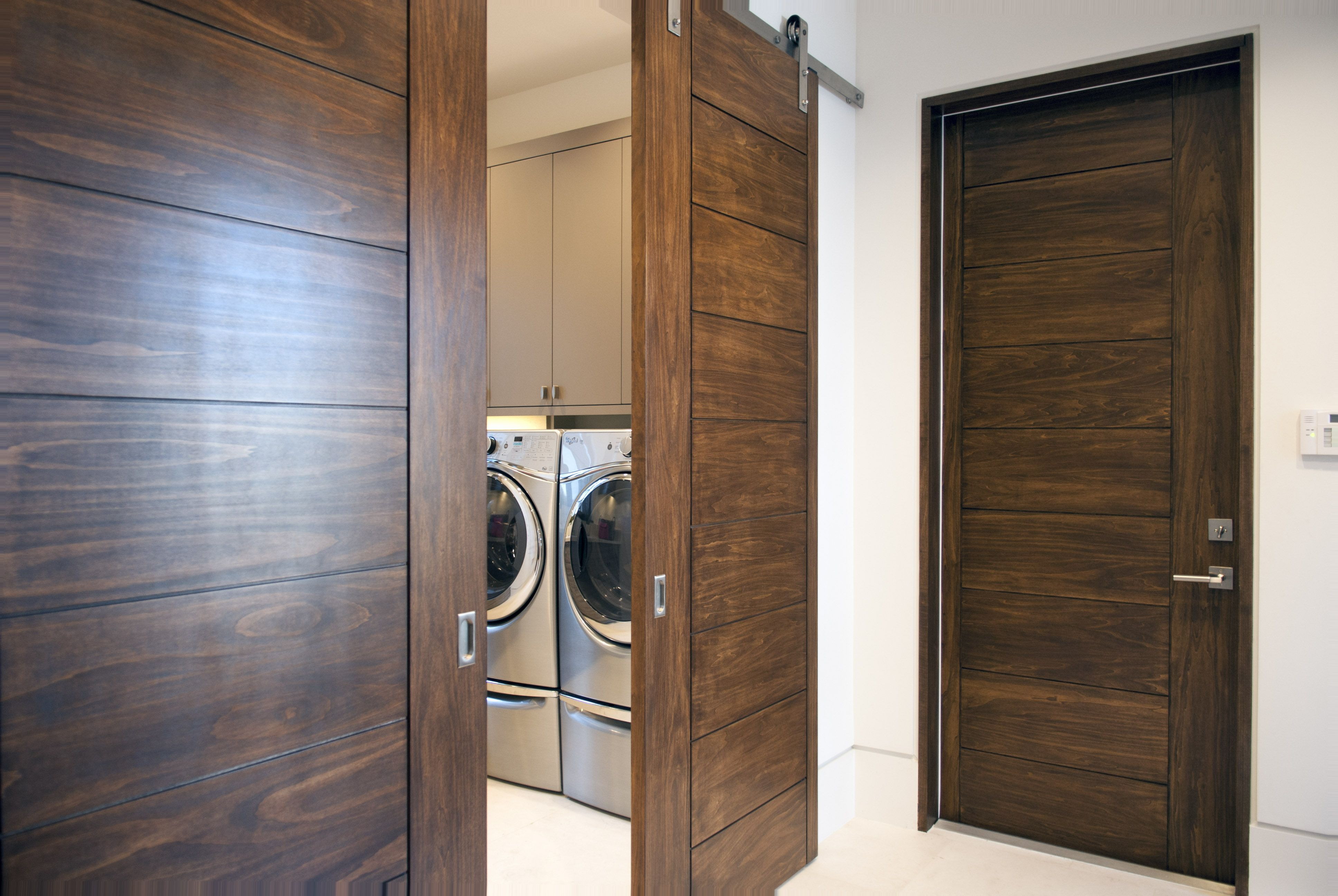 Trustile doors modern and contemporary solid wood doors for Contemporary barn doors