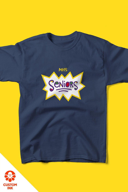 Seniors Shirt Design Idea in 2020 Senior shirts, Senior