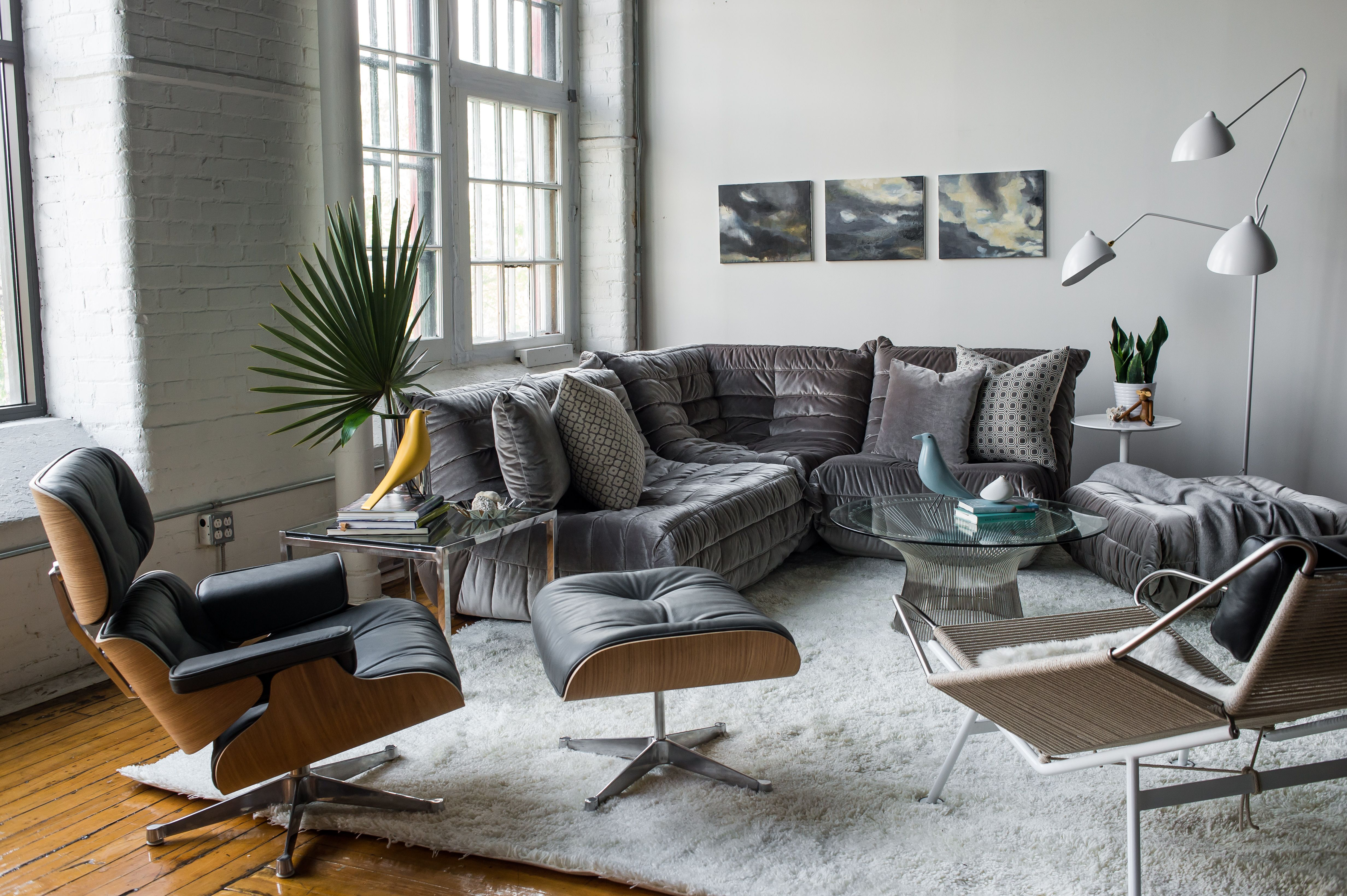 Brilliant Togo Lounge Area And Eames Lounge Chair Reproductions Of Pabps2019 Chair Design Images Pabps2019Com