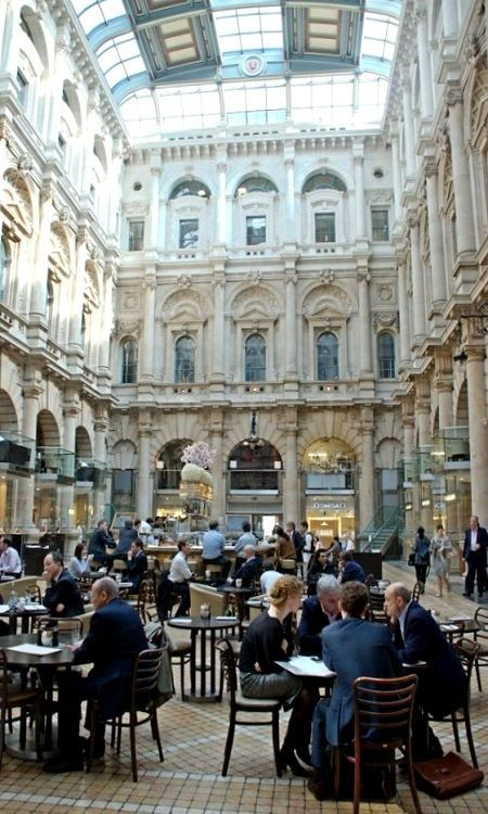 The Old Royal Stock Exchange ~ Cornhill, London, England