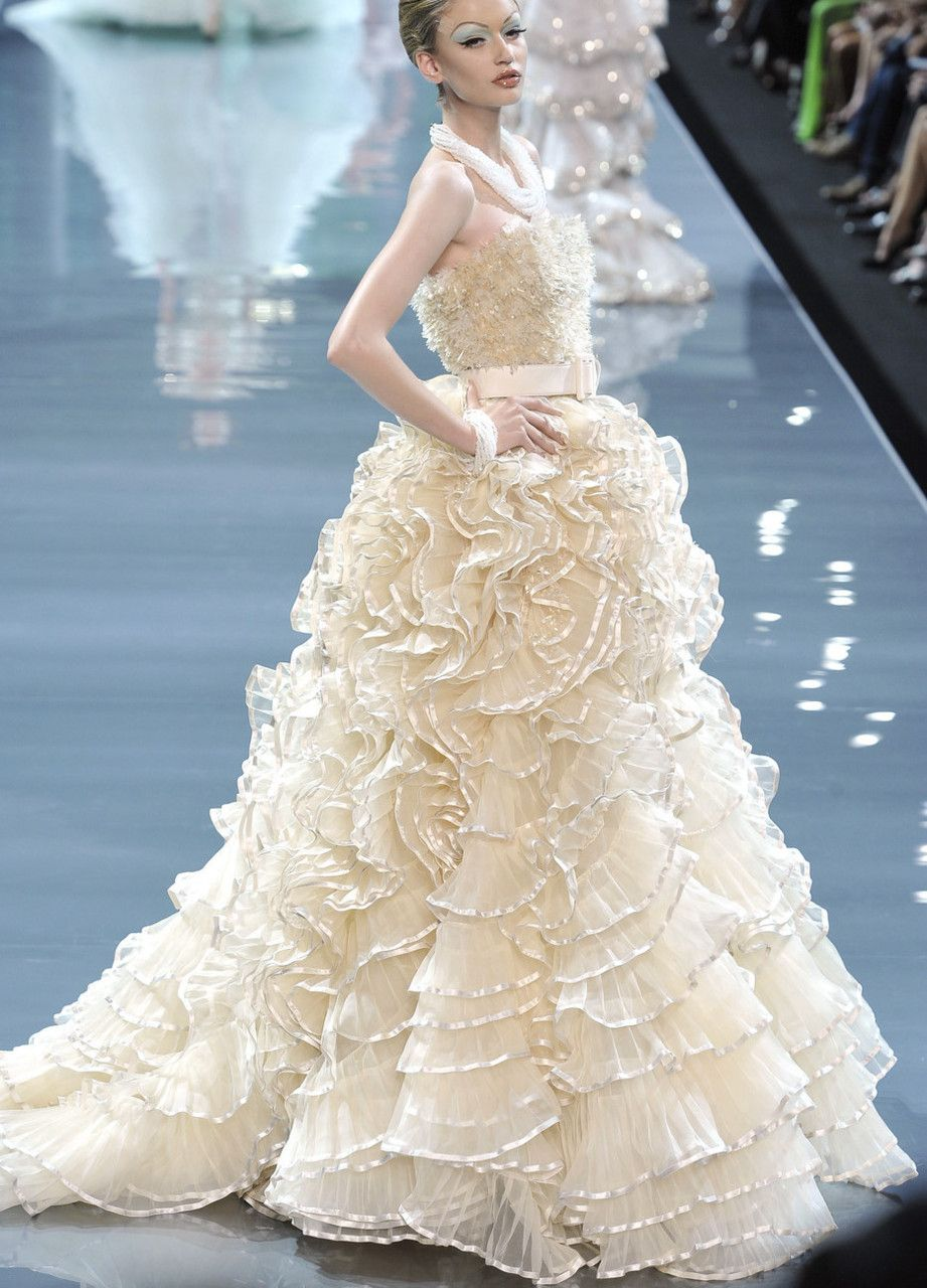 Christian Dior Haute Couture Fall 2008 | Fantasy & Couture ...