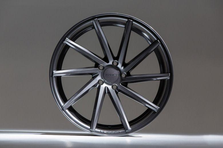 Vossen Unveils its CVT Gloss Graphite Wheels | car wheels ...