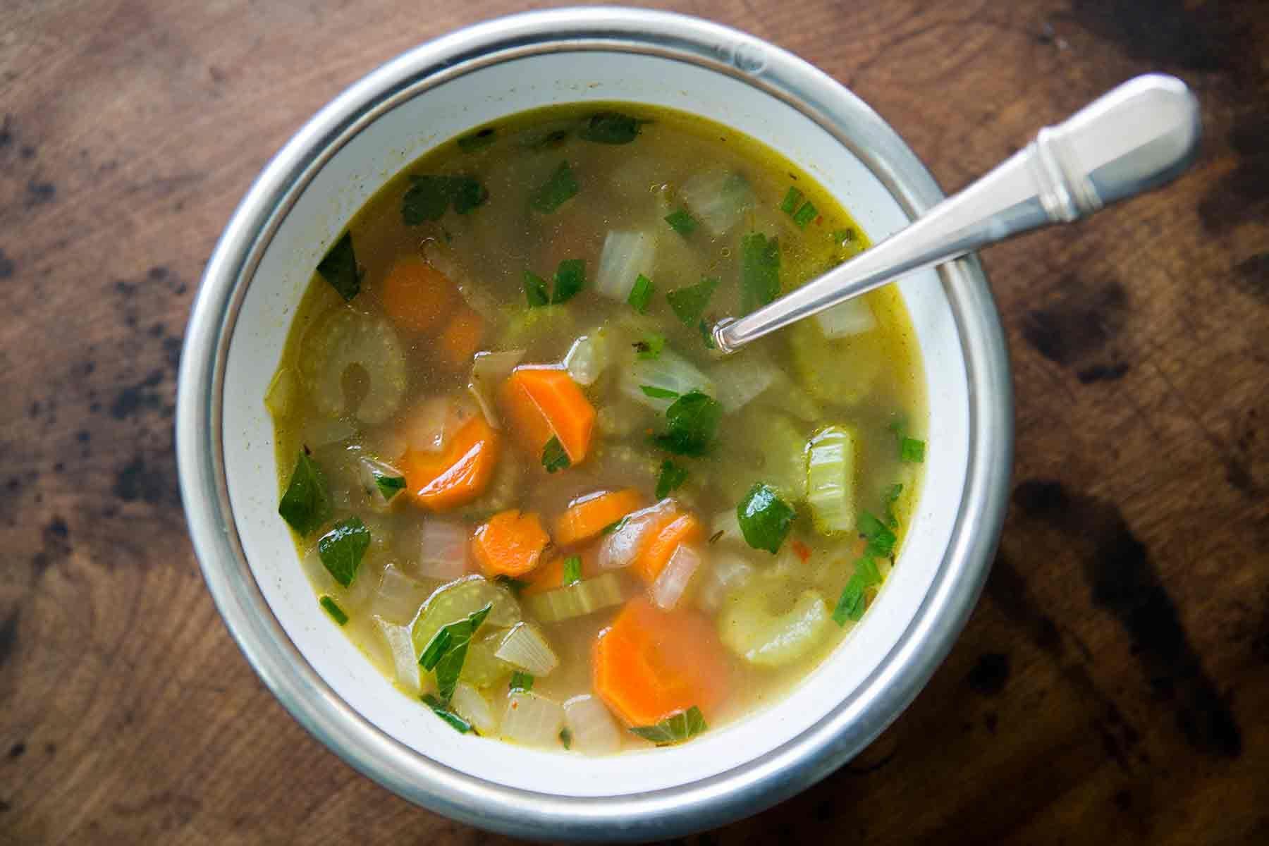 Mom S Cold Season Chicken Soup Recipe Simplyrecipes Com Recipe Chicken Soup Recipes Chicken Seasoning Recipes