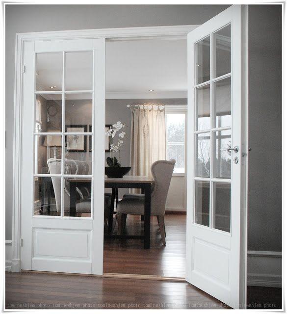 Doors Between Living Room And Dining Room Doppelturen Franzosische Inneneinrichtung Flugeltur Wohnzimmer