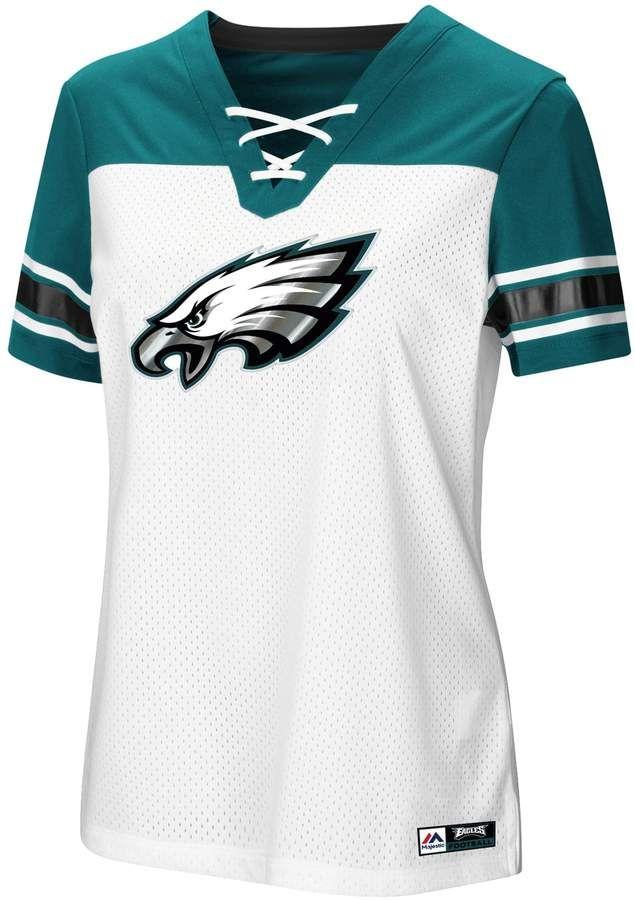 ff875f35 Women's Majestic Philadelphia Eagles Draft Me Tee in 2019 | Products ...