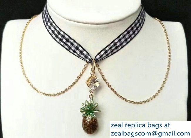Pineapple necklace Miu Miu 5JSTMQB