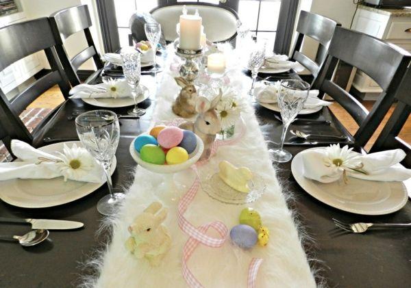 Tischdeko Ostern Basteln Sie Eine Frohliche Feststimmung