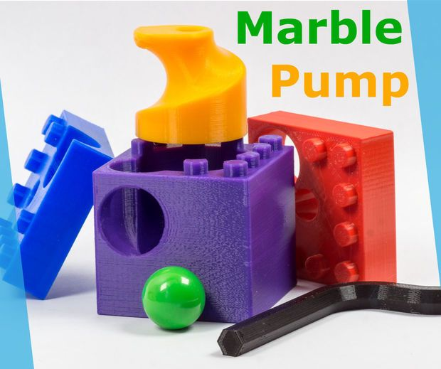 How I Designed A Marble Pump 3d Printable And Lego Compatible Imprimante 3d Emailing