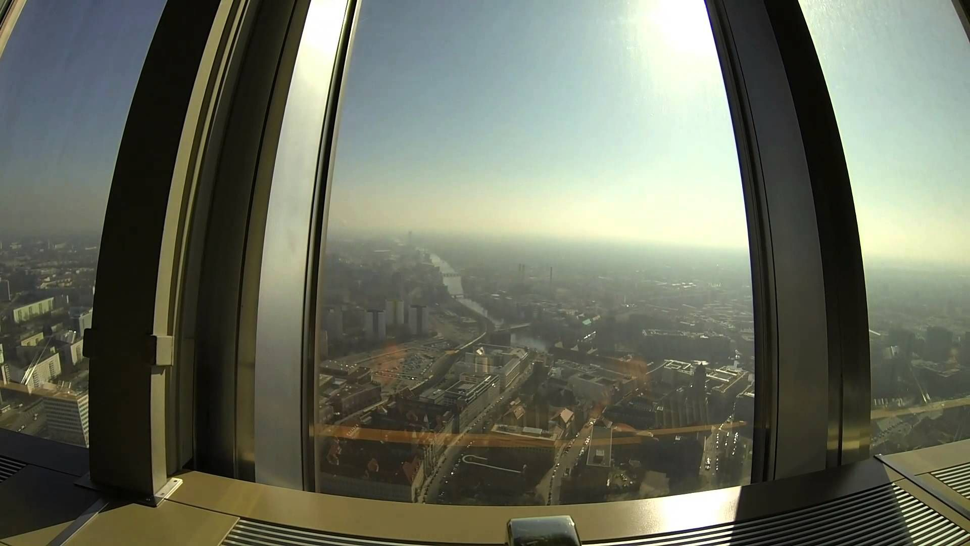 Berlin Tv Tower Rotating Restaurant Germany Historical And