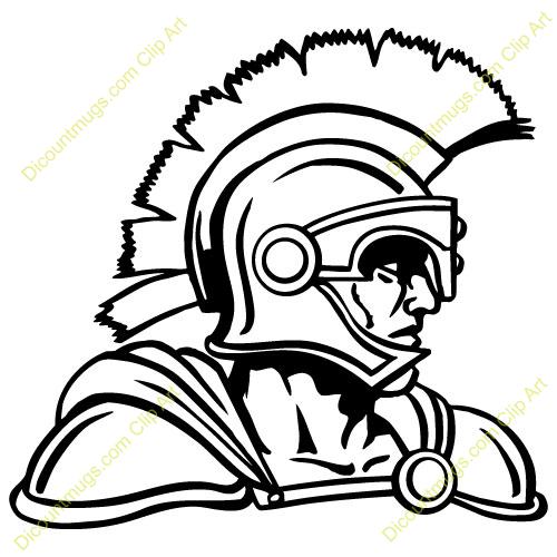 Trojan Football Clip Art  Clipart 14799 Trojan - Trojan
