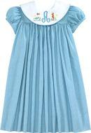 Turq Classic Checks Float Dress