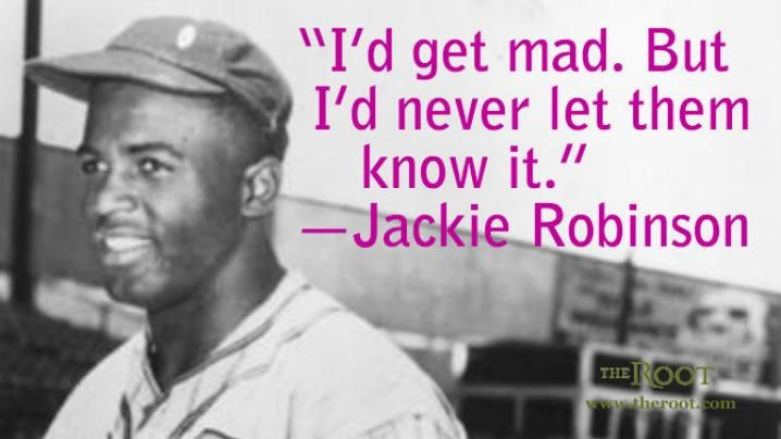 Jackie Robinson baseball quotes | Quote of the Day: Jackie Robinson on Willpower