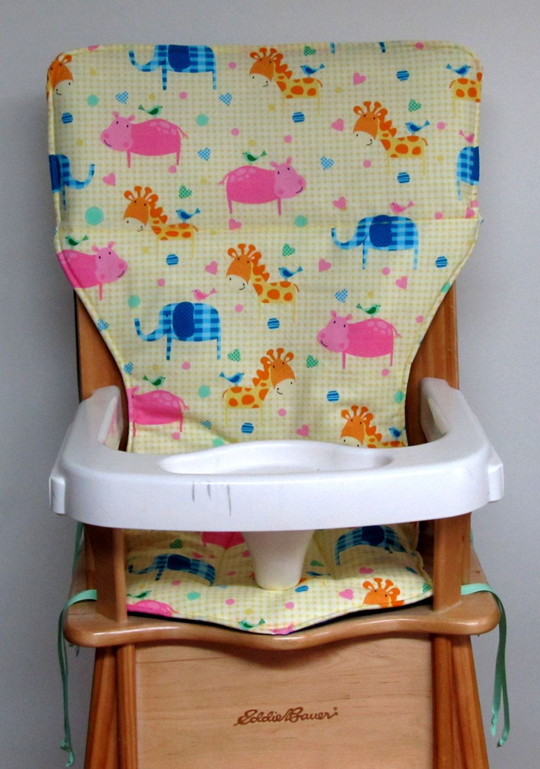 Jenny Lind High Chair Cover Baby Accessory Eddie Bauer Wooden