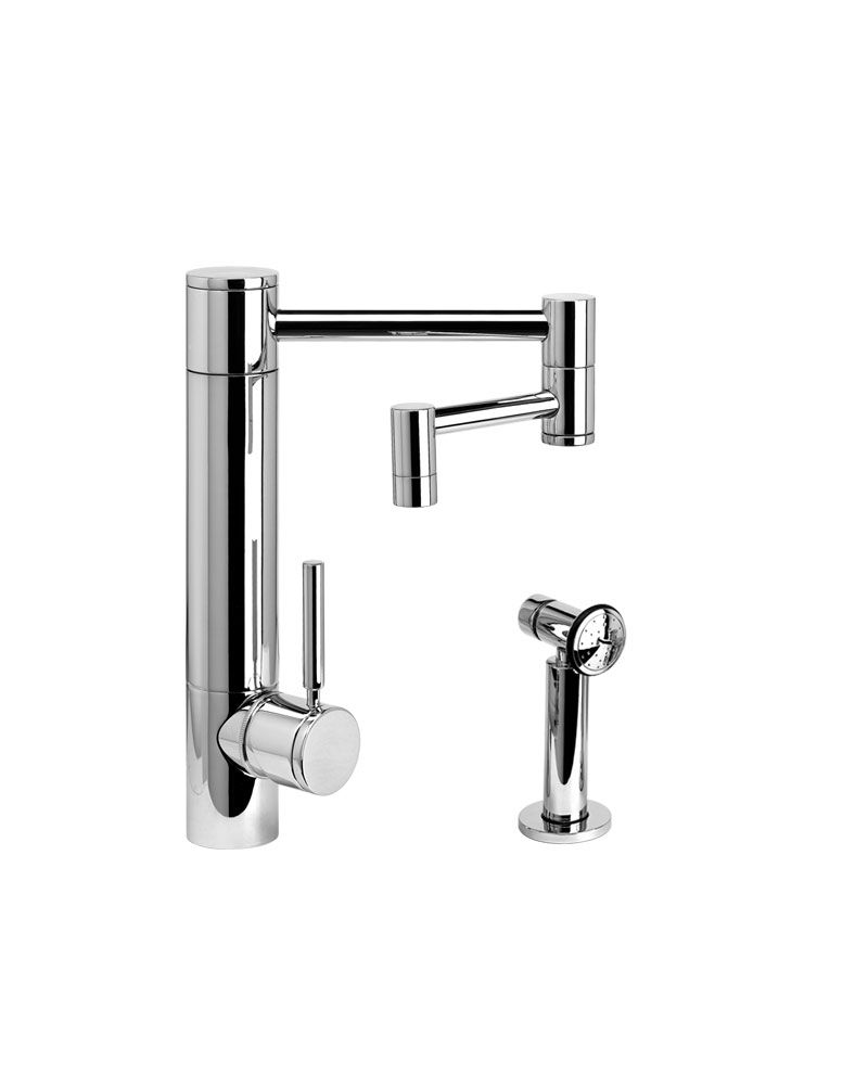 Waterstone Hunley Kitchen Faucet W 12 Articulated Spout 3600