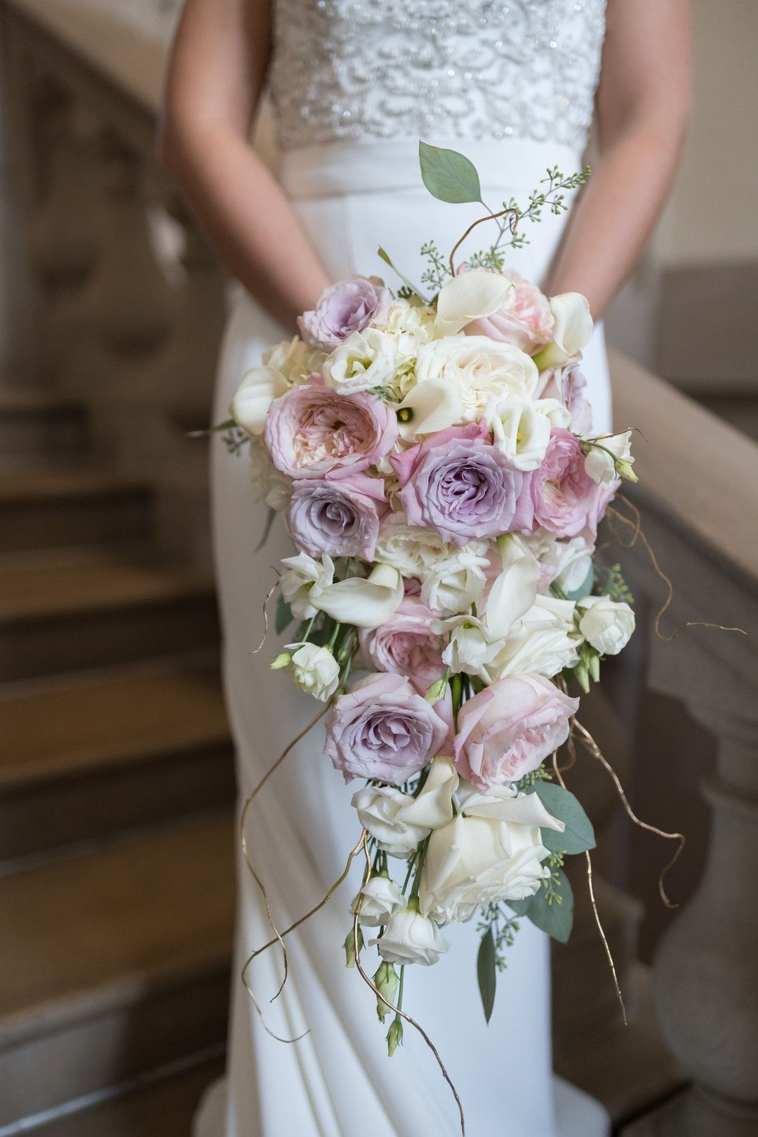 Modern Pink Gold Fairytale Wedding Inspiration Lavender Bridal